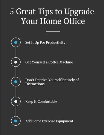 5 Great Tips to Upgrade Your Home Office