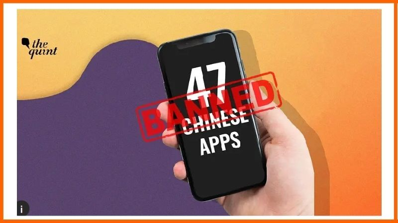 India Banned 118 Chinese Mobile Apps.