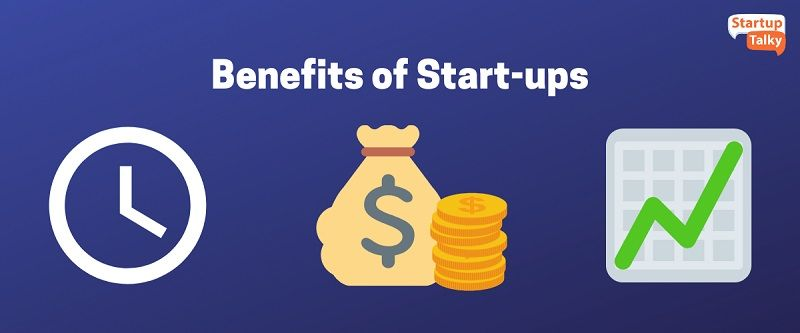 Benefits of Start-ups