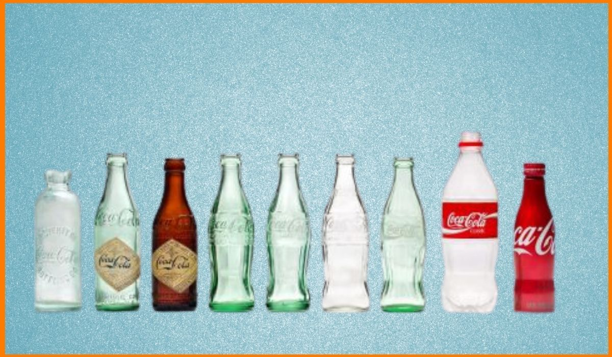 Evolution of Coca Cola's Packaging