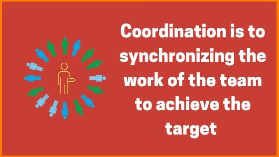 Meaning of Coordination