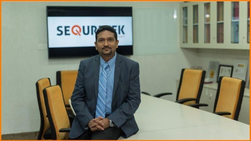 Pankit Desai, Co-Founder and CEO, Sequretek (New Delhi).