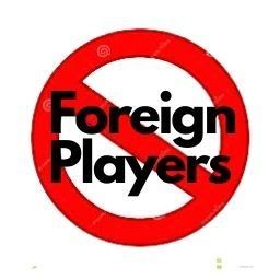 Restriction over Foreign Players