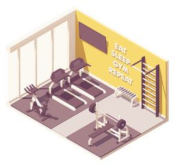 Small Gym Or Fitness Centre