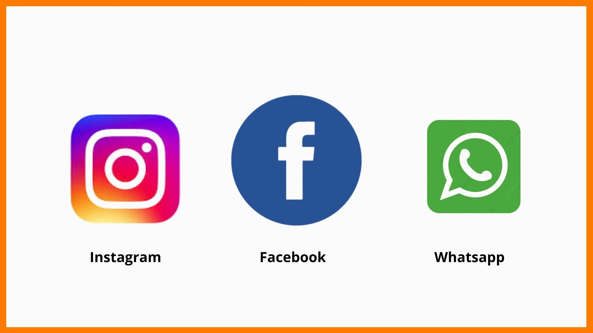 The 3 main social networking sites owned by Mark Zuckerberg