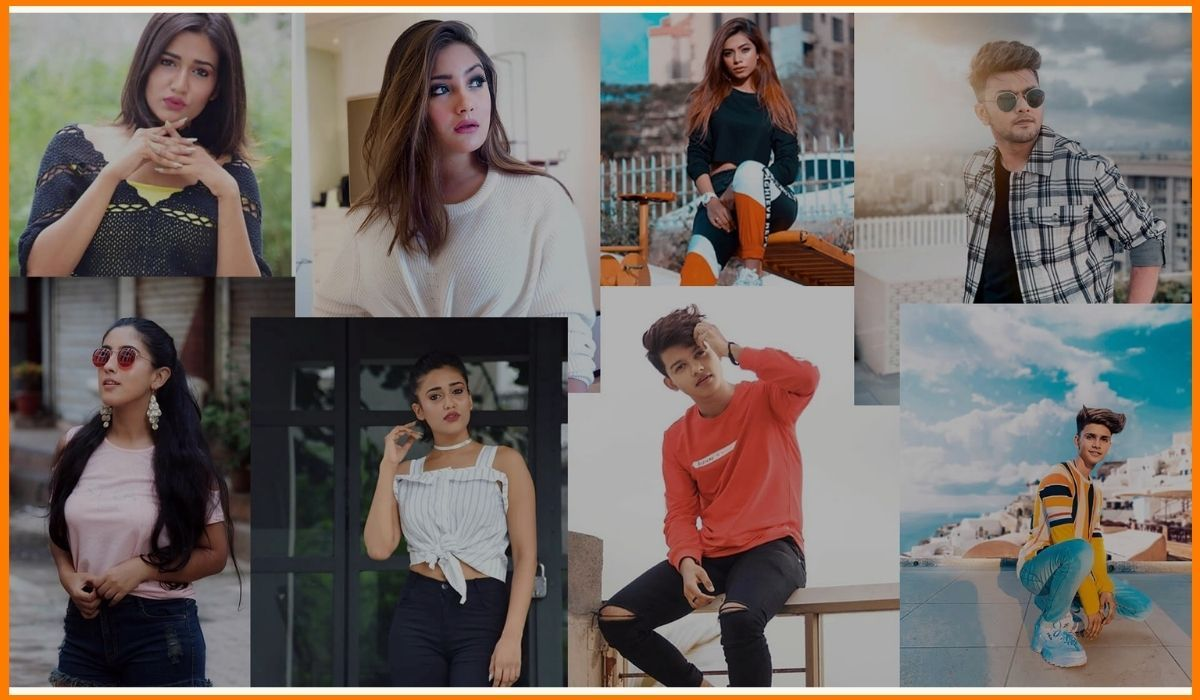 Famous TikTok influencers in India
