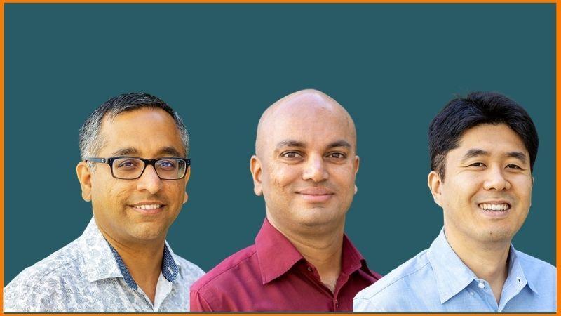 Clumio Founders | Poojan Kumar, Kastubh Patil and Woon Jung