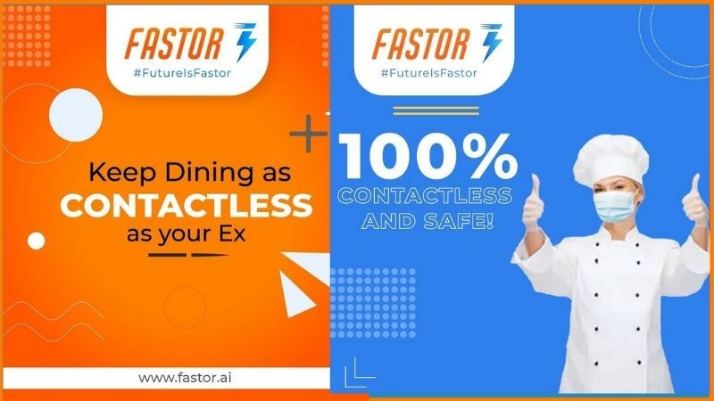Fastor Offers you contact-less dining with digital ways of ordering food at your table