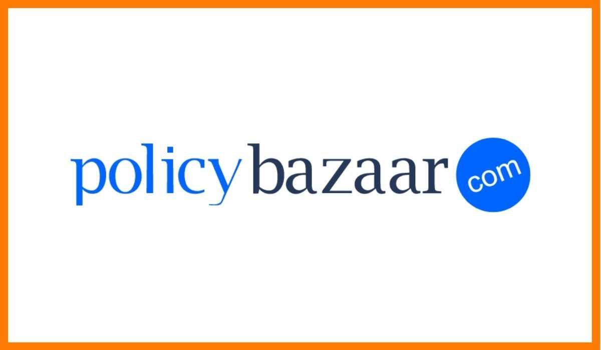 The logo of PolicyBazaar.