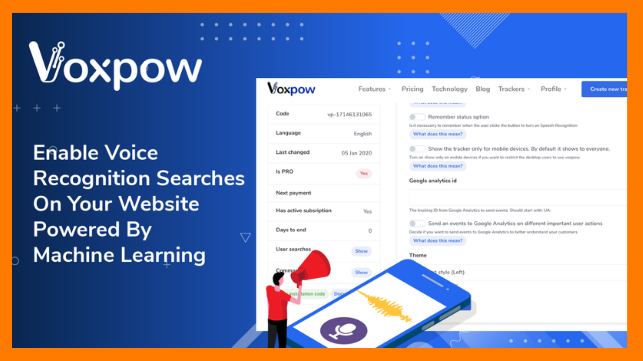 VoxPow: Speech to Text Recognition Software
