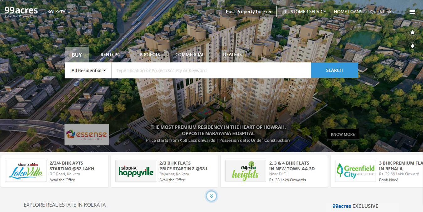 free property sites in india_startuptalky