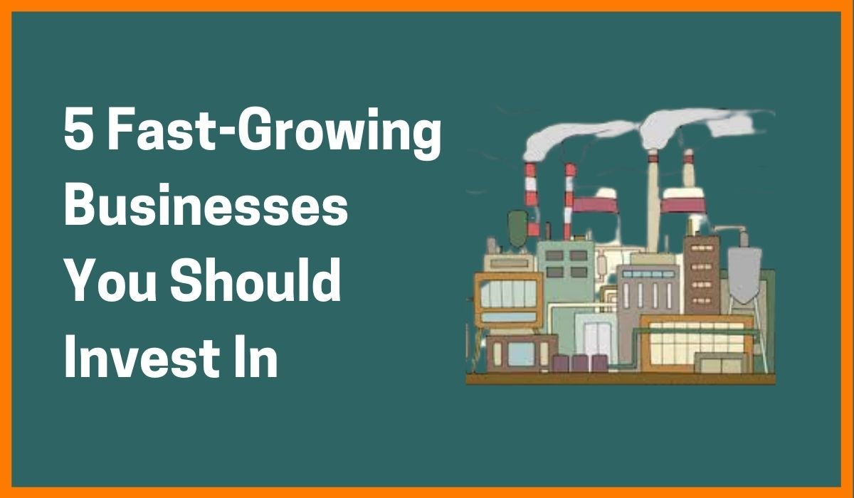 5 Fast-Growing Businesses You Should Invest In
