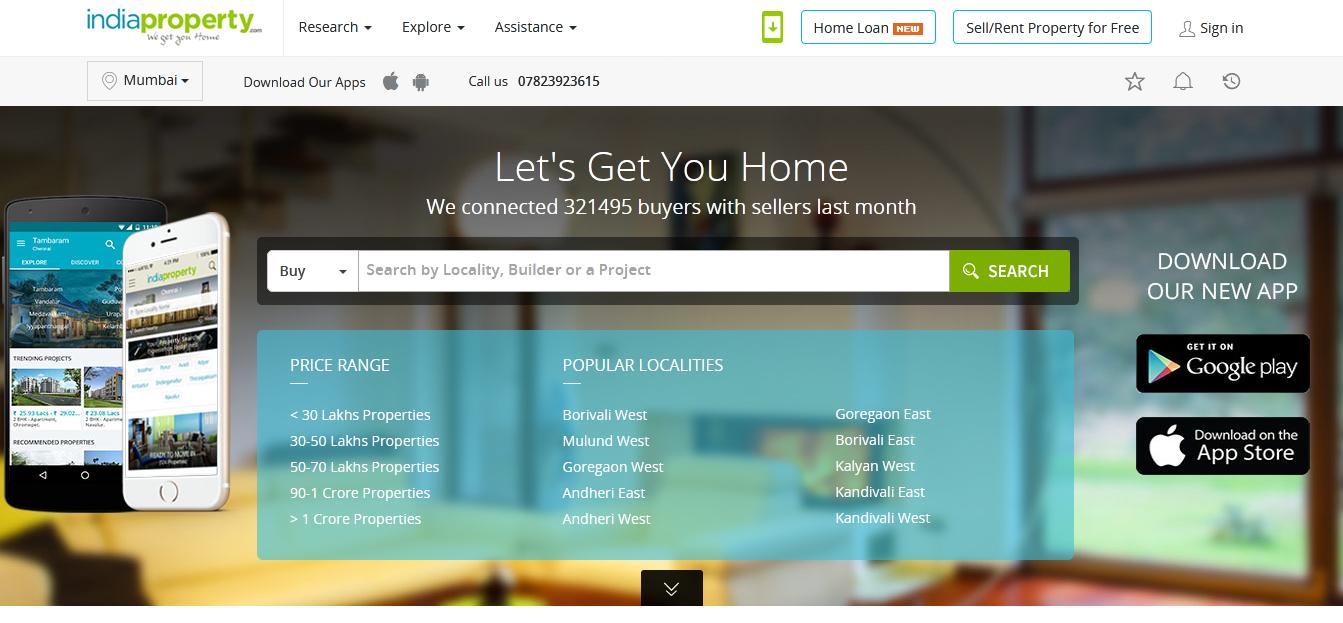 top 10 real estate websites in india 2020_startuptalky
