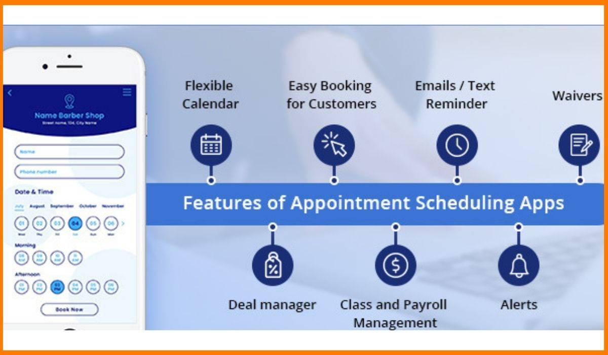 Appointment Scheduling Apps features