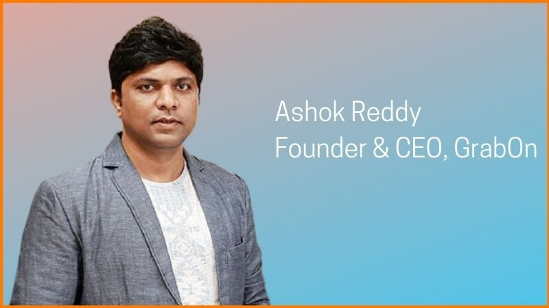 Founder and CEO of GrabOn - Ashok Reddy