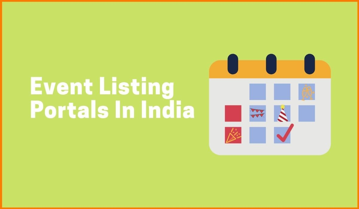 Best Event Listing Portals In India