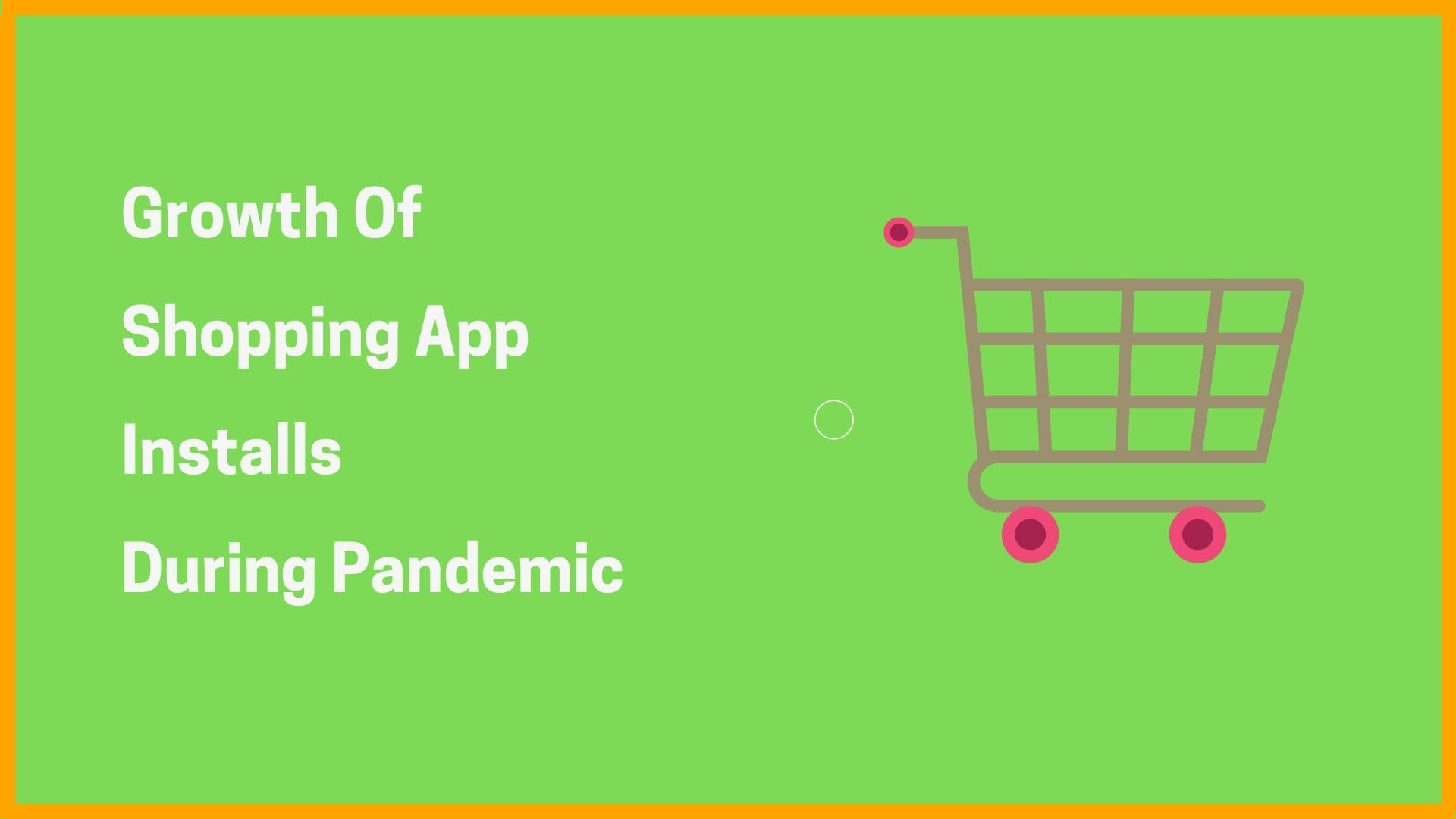 Growth Of Shopping Apps Installs During Pandemic