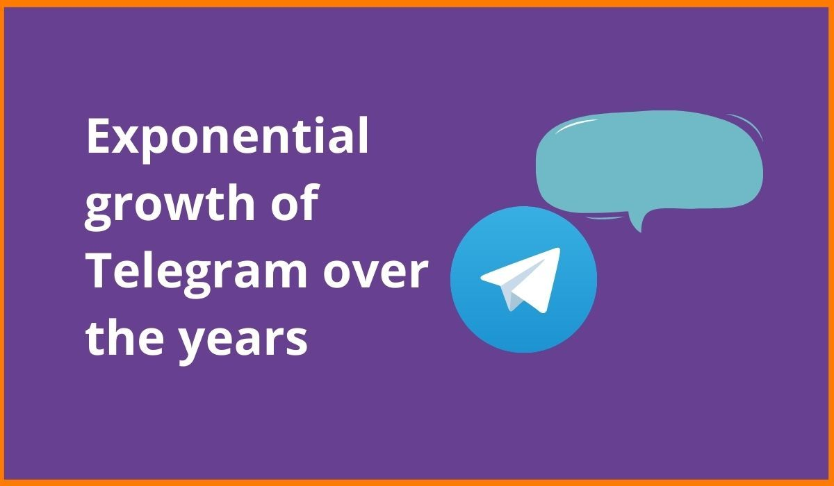 Exponential Growth Of Telegram Over the Years | Privacy Matters