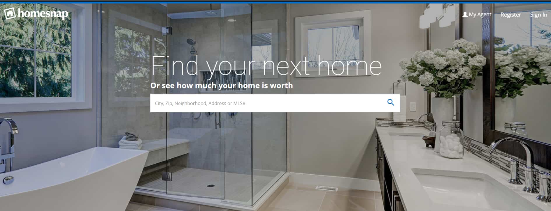 Homesnap website