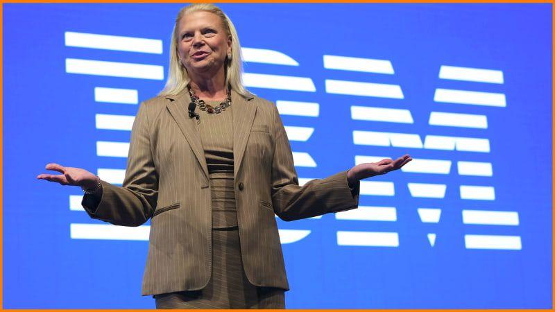 Ginni Rometty, ex-CEO of IBM