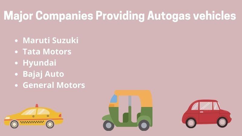 Companies Providing Autogas Automobiles