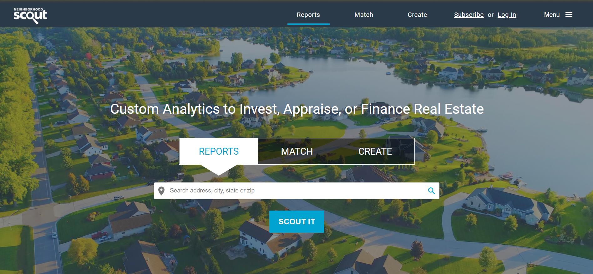 Neighborhoodscout Website