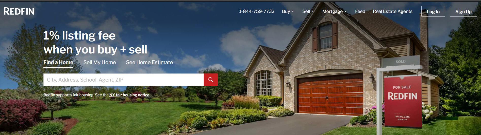 Redfin Website