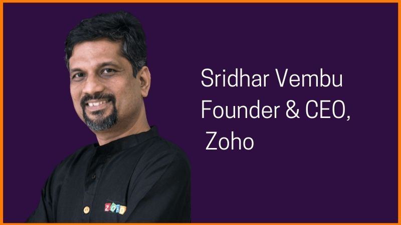 Zoho founder owner