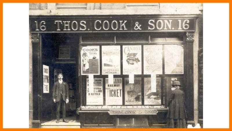 Thomas Cook & Son old office - Thomas Cook Case Study