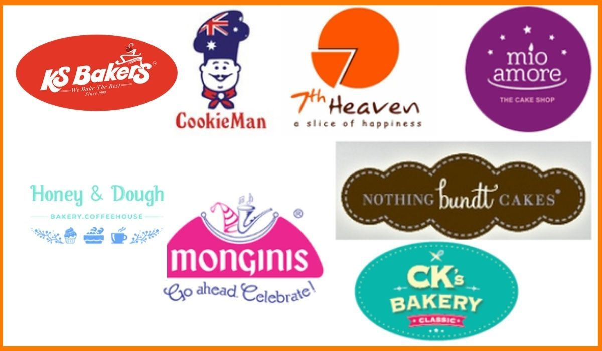 Some top Bakery Brands in India