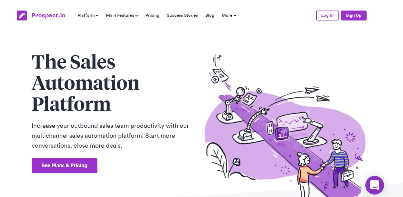 Prospect.io Sales Prospecting Tool