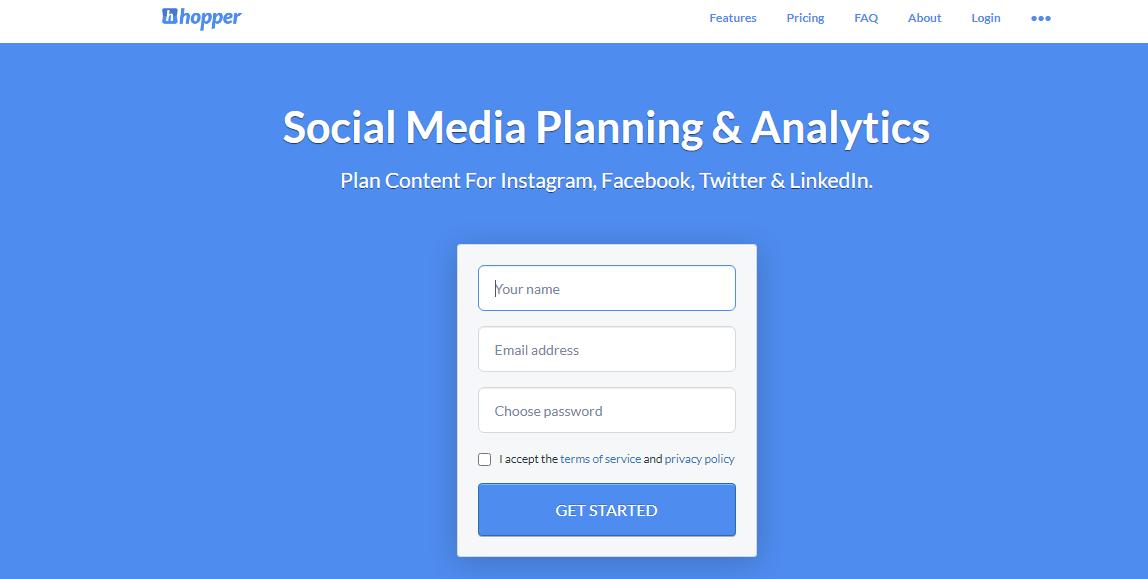 Hopper HQ Social Media Scheduling Tool