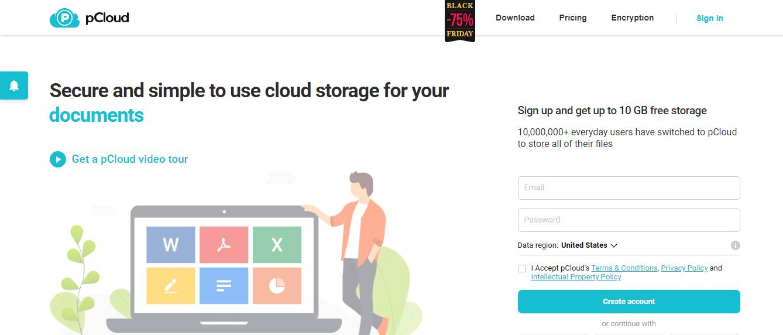 pCloud Storage