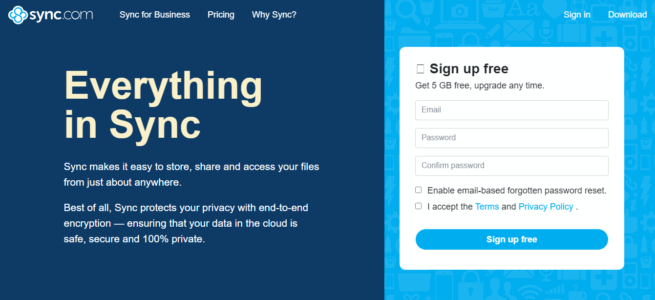 Sync.com Cloud Storage