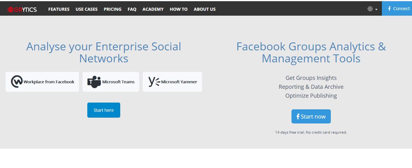 Grytics Facebook Group Management