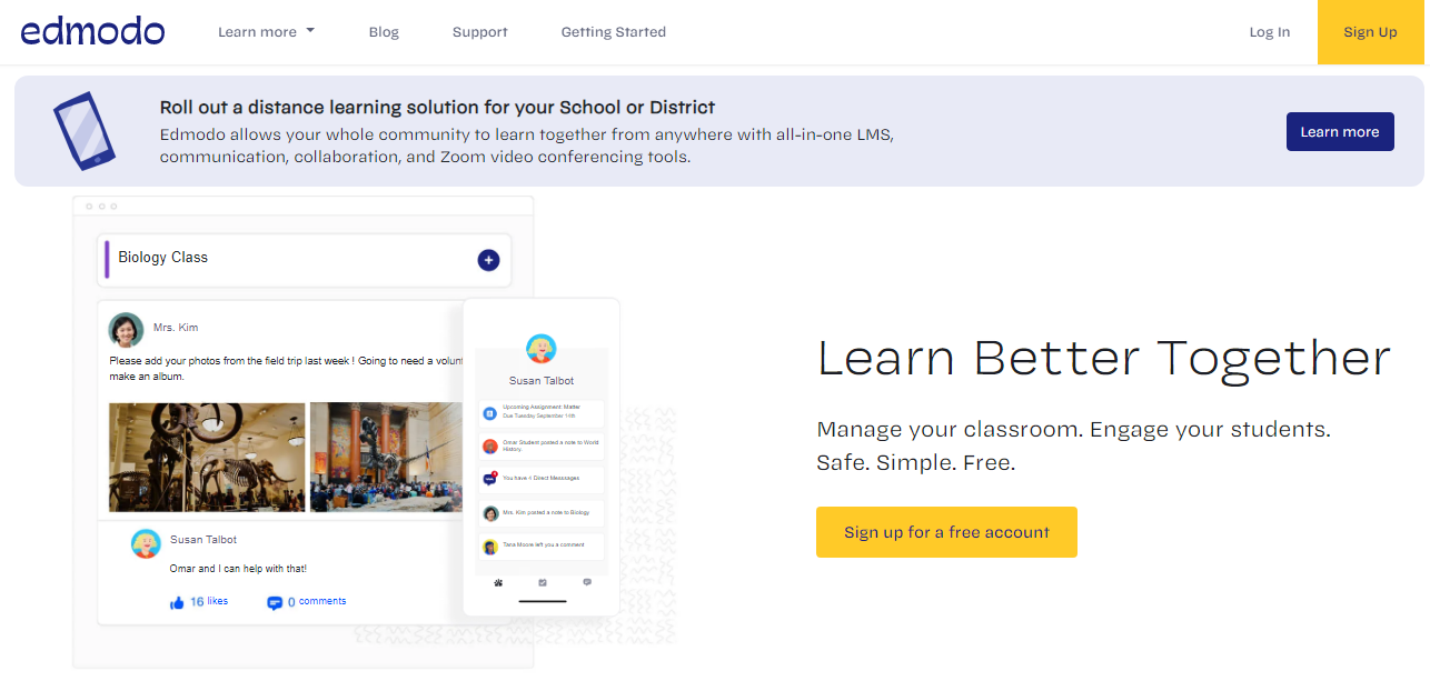 Edmodo Learning Platform