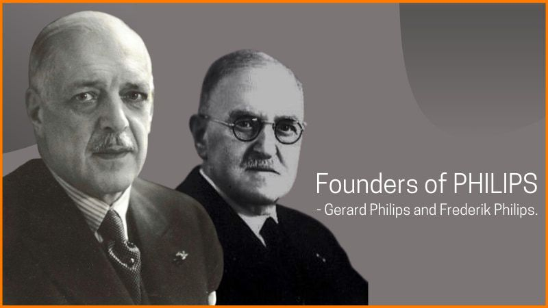Founders of PHILIPS