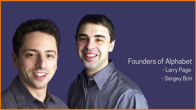 Founders of Alphabet