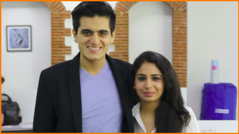 Shobhit Banga and Supriya Paul, founders of Josh Talks