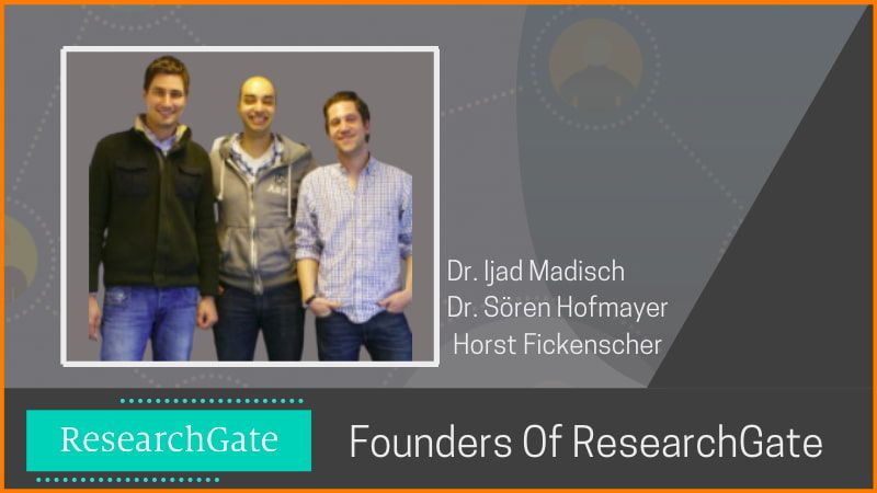 Founders of ResearchGate