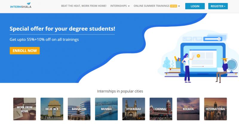 best internship sites india_Startuptalky