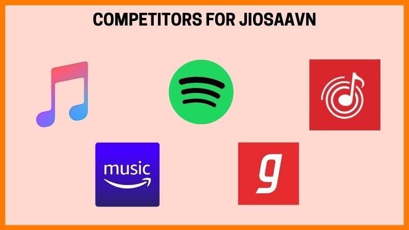 The Competitors of JioSaavn