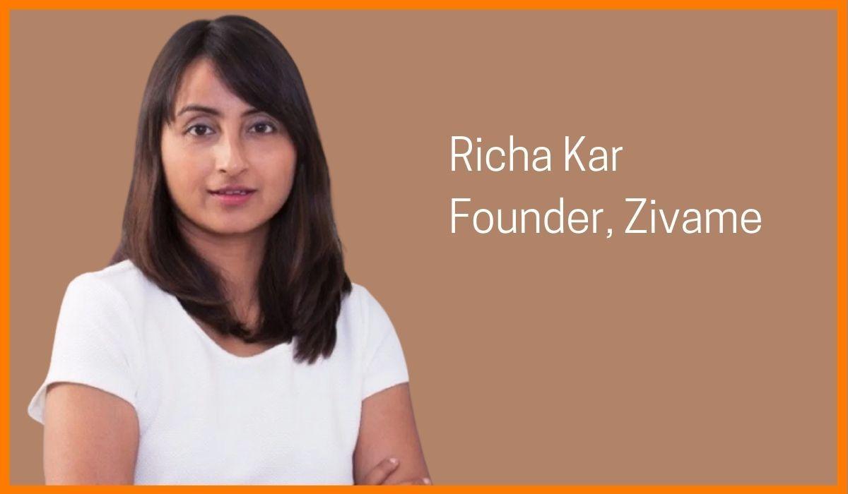 Richa Kar: Online Lingerie Shopping Made Easy By Zivame