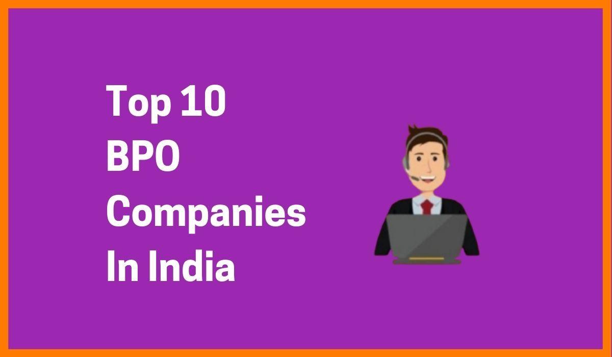 Top 10 BPO Companies In India