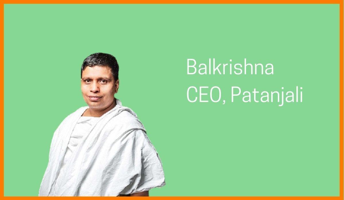 Balkrishna, CEO of Patanjali