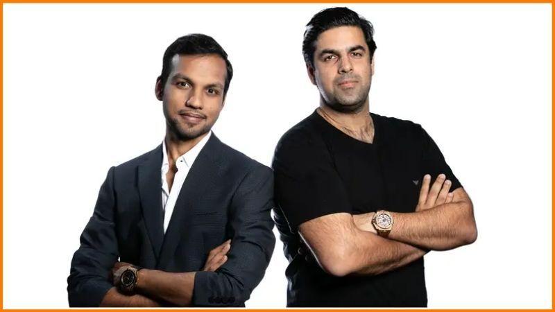Builder.ai Founders   Saurabh Dhoot & Sachin Dev Duggal