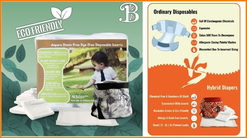 Ecofriendly Bdiapers