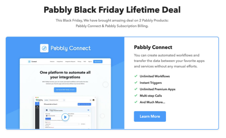 Pabbly Lifetime Deal