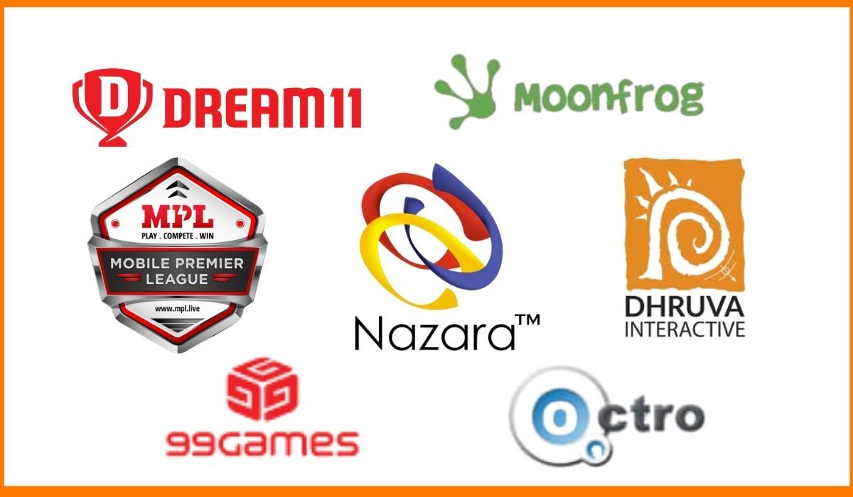 Top gaming companies in India