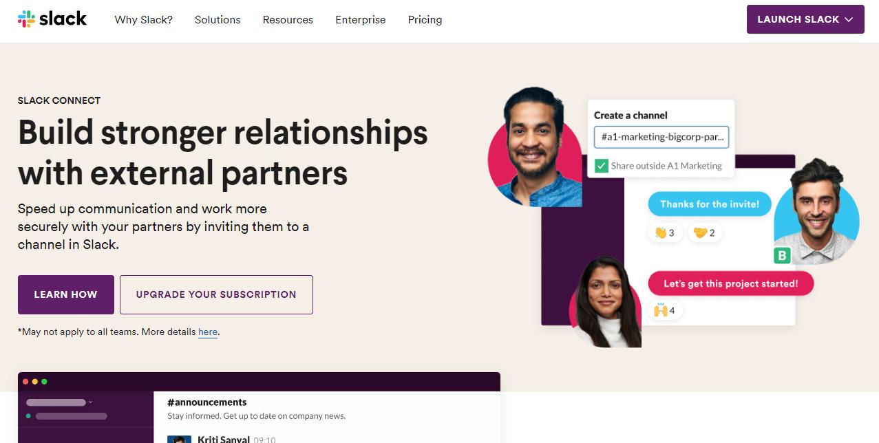 Slack Communications Platform